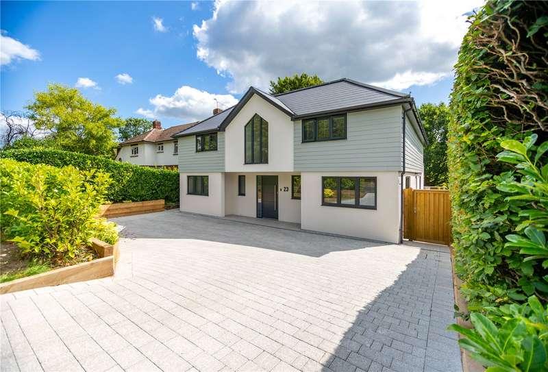 5 Bedrooms Detached House for sale in Trotsworth Avenue, Virginia Water, Surrey, GU25