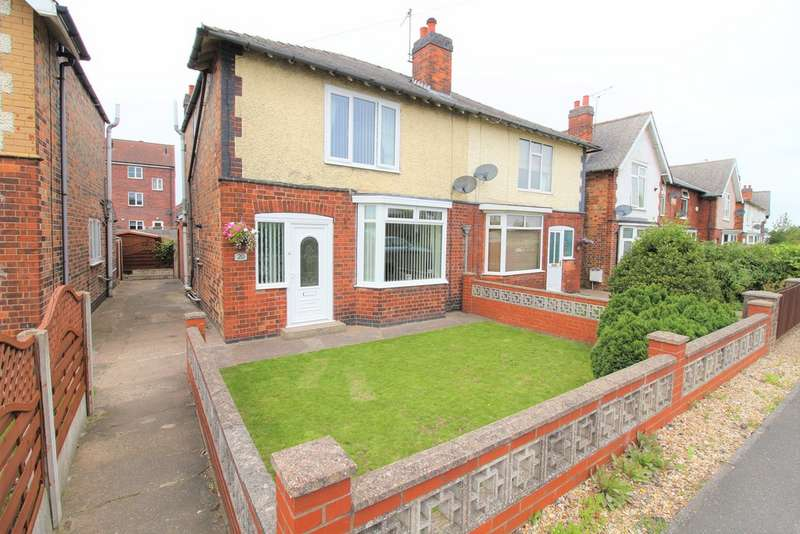 3 Bedrooms Semi Detached House for sale in Newells Terrace, Misterton DN10