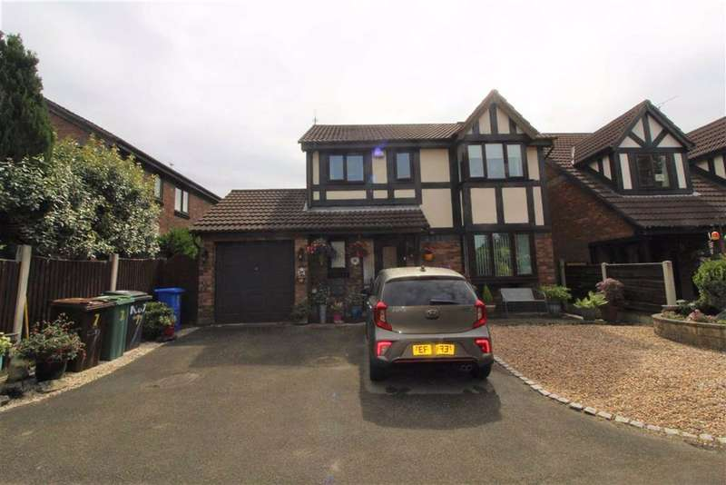 3 Bedrooms Detached House for sale in Rowanswood Drive, Hyde
