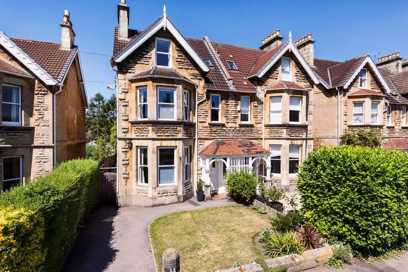 6 Bedrooms Semi Detached House for sale in Forester Road, Bath, BA2