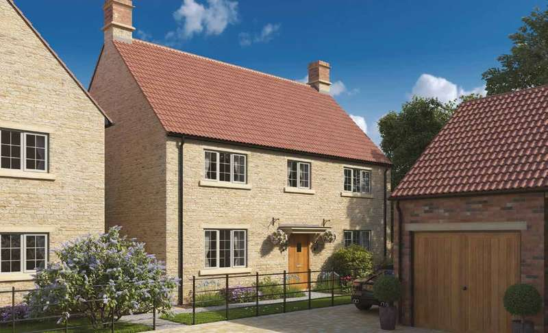 4 Bedrooms Detached House for sale in Church Farm, Rode, BA11