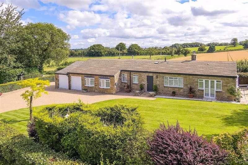 3 Bedrooms Detached Bungalow for sale in Harrogate Road, Stockeld, North Yorkshire
