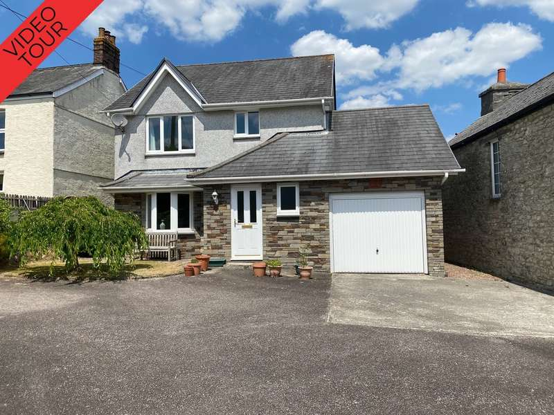 3 Bedrooms Detached House for sale in Gunnislake, Cornwall
