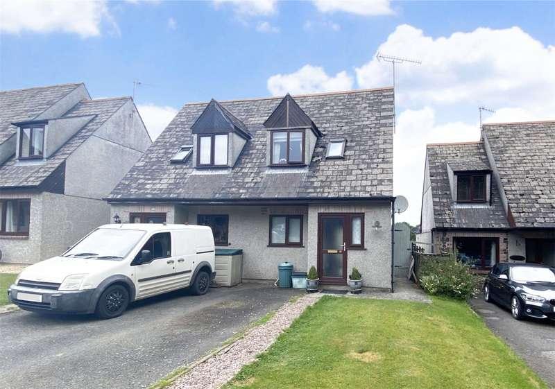 2 Bedrooms Semi Detached House for sale in Park Court, Chillaton, Lifton, Devon, PL16