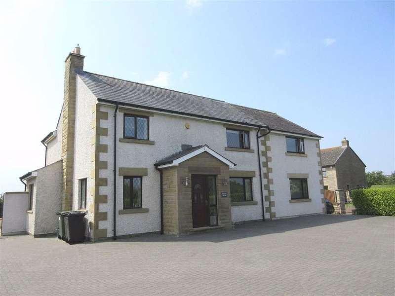 4 Bedrooms Detached House for sale in Brows Fold, Glasson Dock, Lancaster, LA2