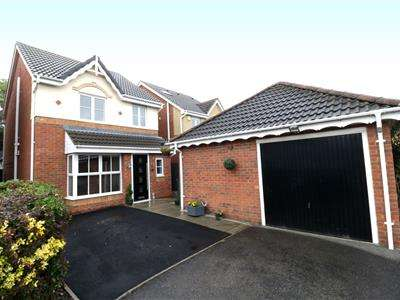 3 Bedrooms Detached House for sale in Fox Farm Court, Brampton Bierlow, Rotherham