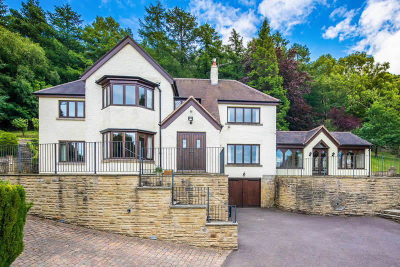 5 Bedrooms Detached House for sale in Tedgness Road, Grindleford, Hope Valley