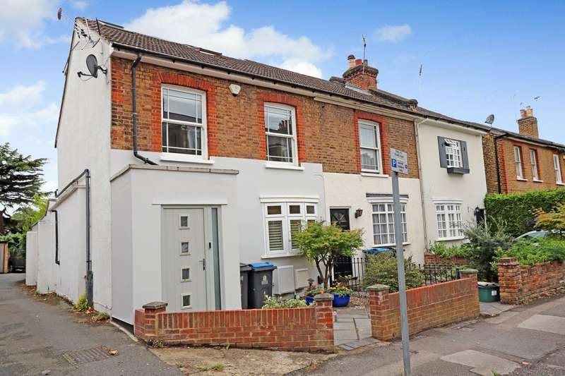3 Bedrooms End Of Terrace House for sale in Cleaveland Road, Surbiton