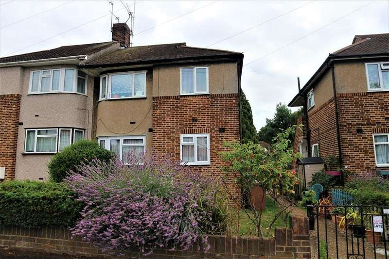 2 Bedrooms Ground Maisonette Flat for sale in Downbank Avenue, Bexleyheath, Kent, DA7 6RS