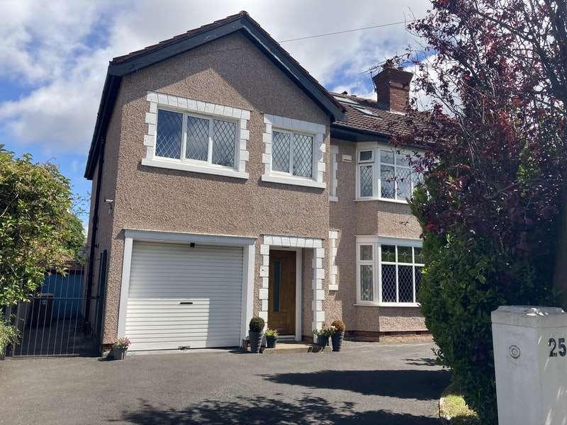 6 Bedrooms Semi Detached House for sale in Bryanston Road, Birkenhead, Merseyside, CH42
