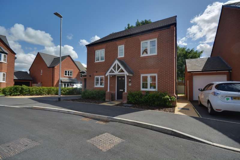 4 Bedrooms Detached House for sale in Barnton Way, , Sandbach, CW11 3DF