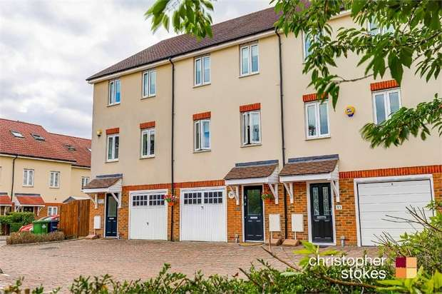 4 Bedrooms Town House for sale in Robinia Road, Broxbourne, Hertfordshire