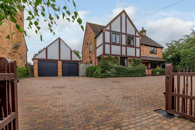 4 Bedrooms Detached House for sale in Alcester Road, Wootton Wawen, Henley-In-Arden, Warwickshire