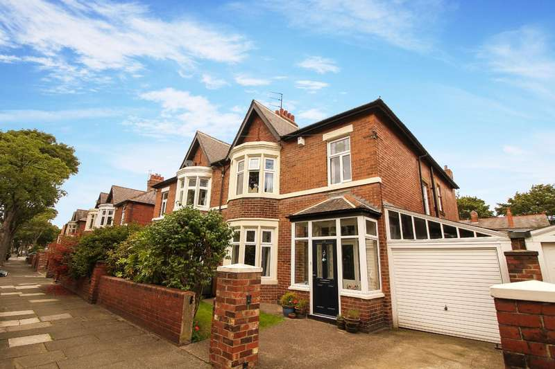 4 Bedrooms Semi Detached House for sale in Grosvenor Drive, Whitley Bay
