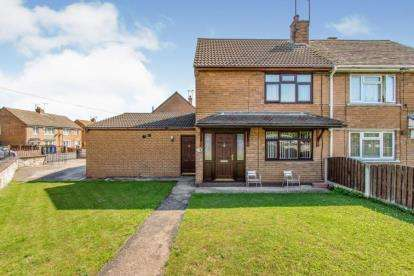 2 Bedrooms Semi Detached House for sale in The Avenue, Campsall, Doncaster