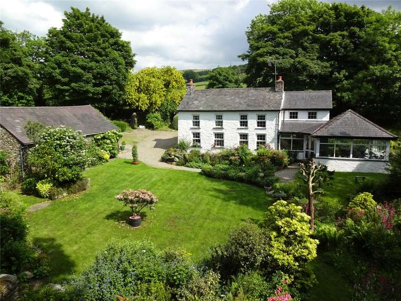 3 Bedrooms Detached House for sale in Cwmann, Lampeter, Carmarthenshire, SA48 8ED
