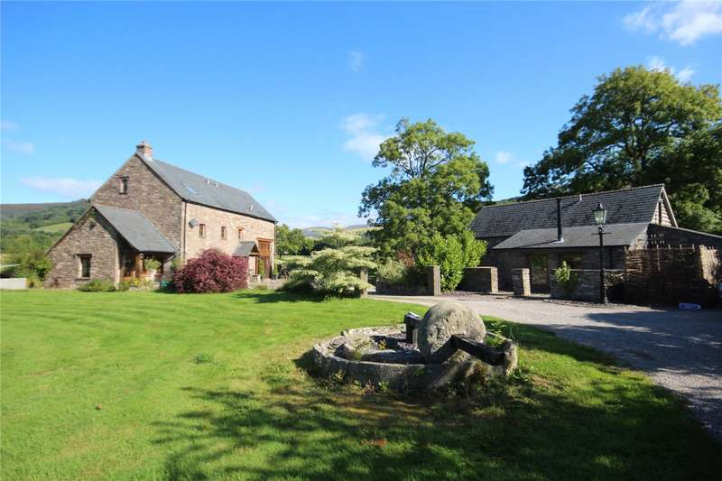 7 Bedrooms Detached House for sale in Cwmdu, Crickhowell, Powys, NP8 1RS