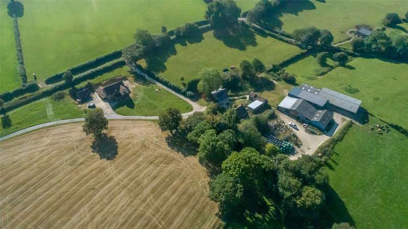 6 Bedrooms Farm Commercial for sale in Deerfold, Lingen, Bucknell, Herefordshire, SY7 0EE