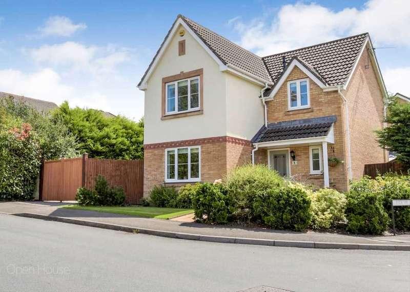 4 Bedrooms Detached House for sale in Fuscia Way, Rogerstone, Afon Village, Newport
