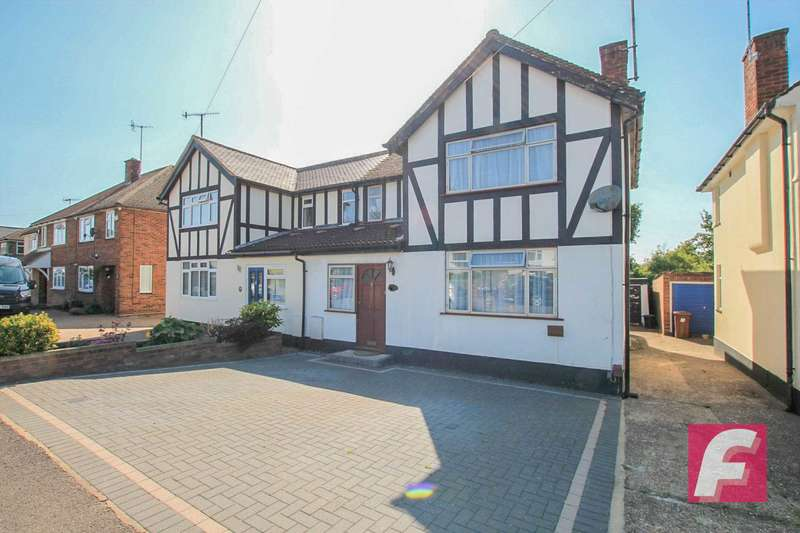 3 Bedrooms Semi Detached House for sale in Mill Way, Bushey, WD23