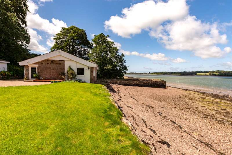 3 Bedrooms Detached Bungalow for sale in The Old Boathouse, Llanfairhall, Caernarfon, Gwynedd, LL55