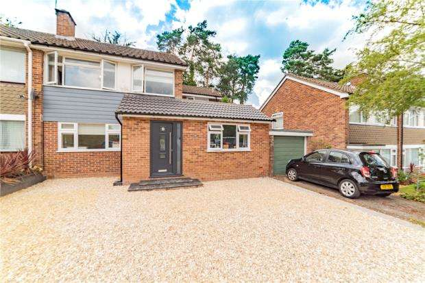 4 Bedrooms Semi Detached House for sale in Green Leys, Church Crookham, Fleet