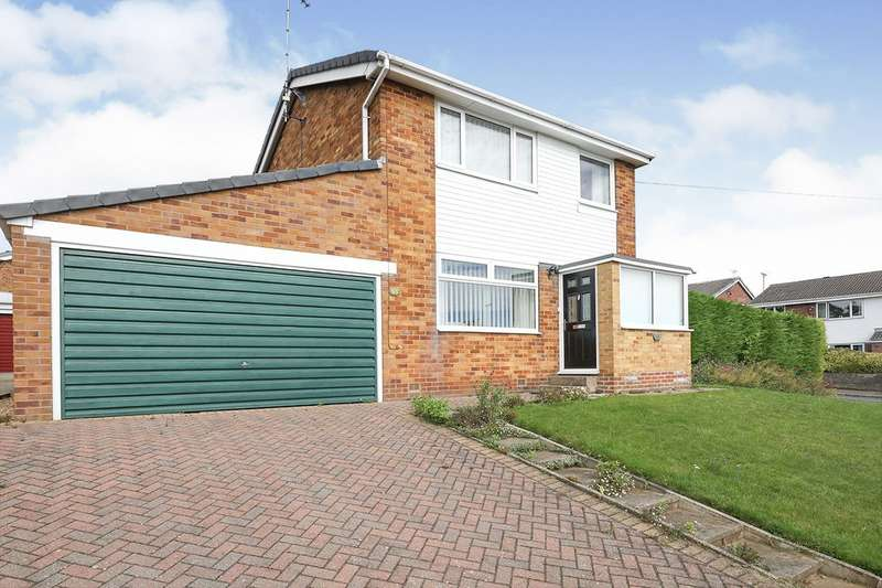 3 Bedrooms Detached House for sale in Rackford Road, North Anston, Sheffield, South Yorkshire, S25