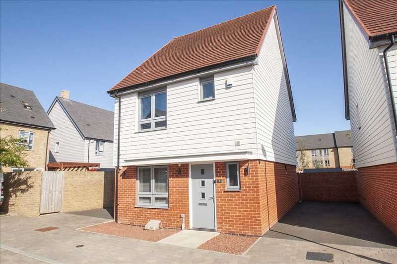 3 Bedrooms Detached House for sale in RUPERT TURRALL PLACE, REPTON PARK, ASHFORD, KENT, TN23 3SS