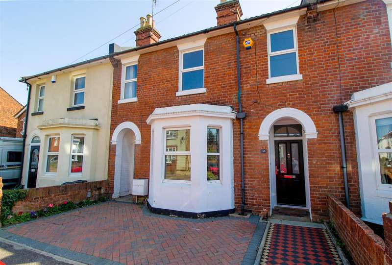 3 Bedrooms Terraced House for sale in Meyrick Crescent, Colchester, CO2