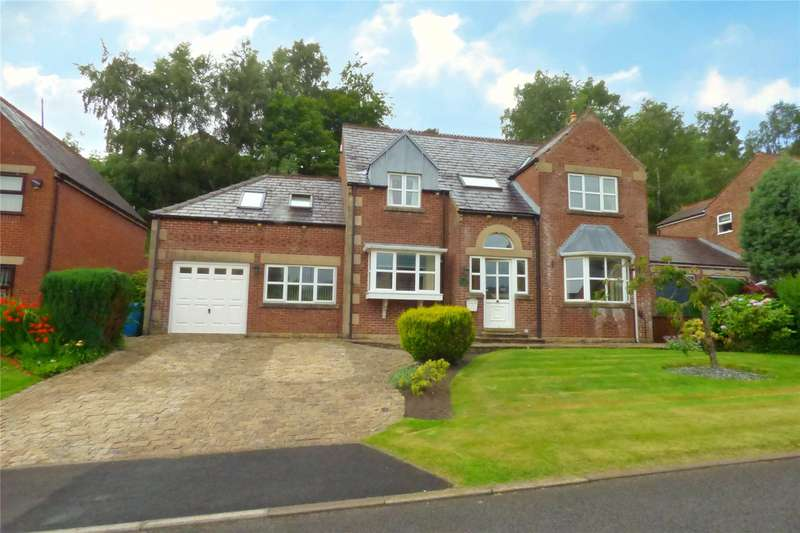 5 Bedrooms Detached House for sale in Millbrook Close, Shaw, Oldham, Greater Manchester, OL2