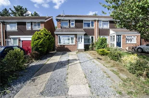 4 Bedrooms Semi Detached House for sale in Hunters Way, Bishopstoke, Eastleigh, Hampshire