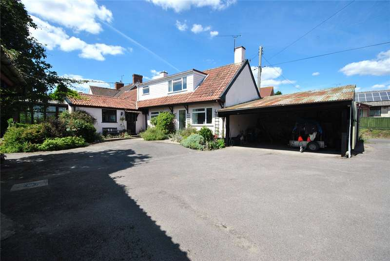 4 Bedrooms Detached House for sale in Loveridge Lane, Tatworth, Chard, Somerset, TA20