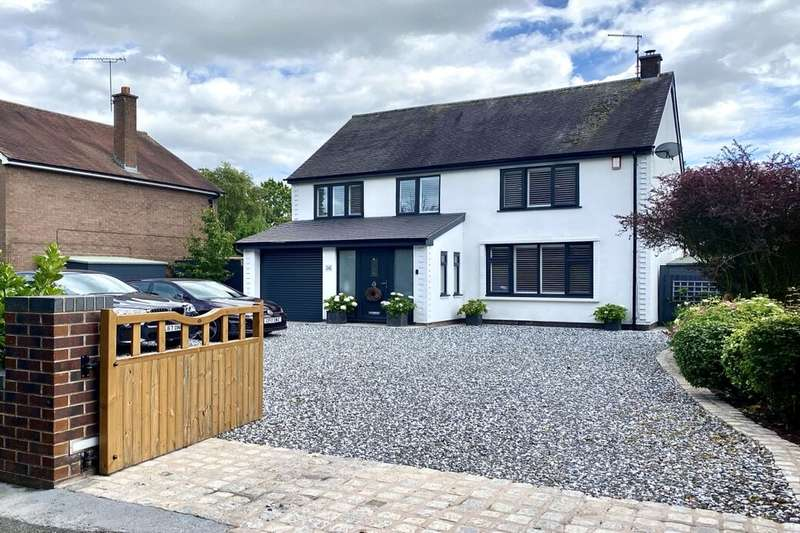 4 Bedrooms Detached House for sale in Middlewich Road, Nantwich, CW5