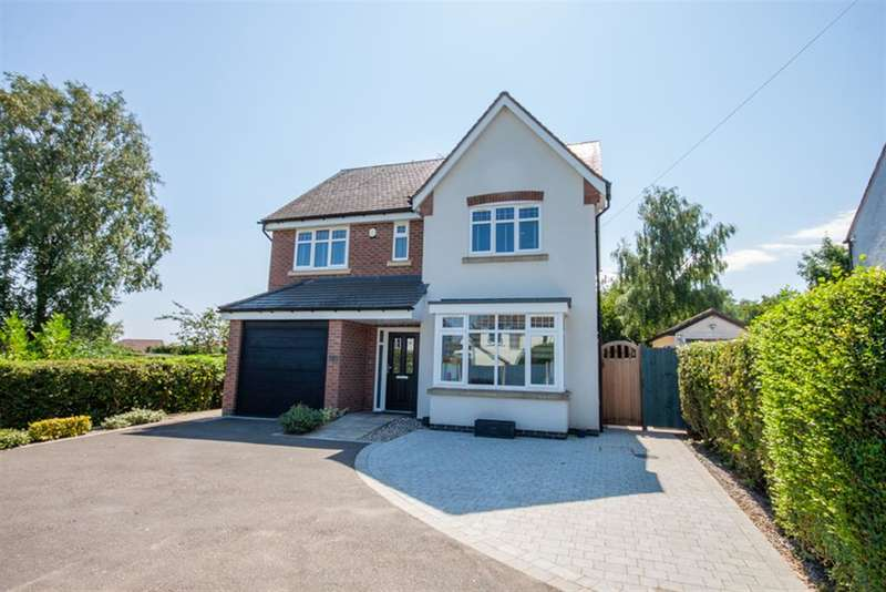 4 Bedrooms Detached House for sale in High Street, Chase Terrace, Burntwood, WS7 1LR