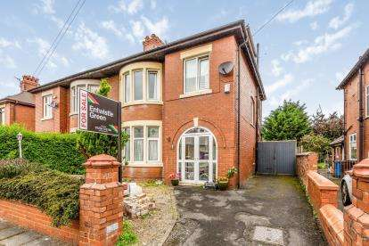 4 Bedrooms Semi Detached House for sale in Warwick Road, Lytham St Anne's, Lancashire, FY8