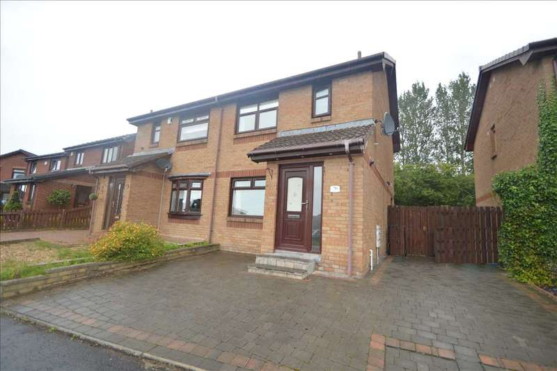 3 Bedrooms Semi Detached House for sale in Culzean Drive, Motherwell
