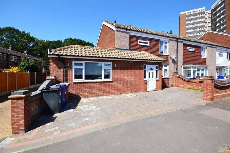 4 Bedrooms End Of Terrace House for sale in Godman Road, Chadwell St.Mary