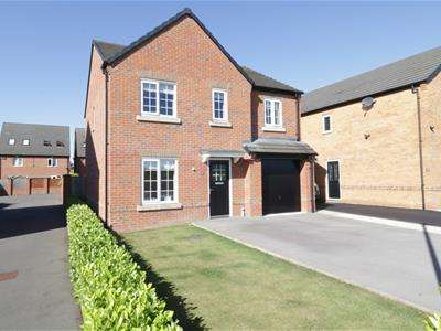 4 Bedrooms Detached House for sale in Buzzard Avenue, Mexborough