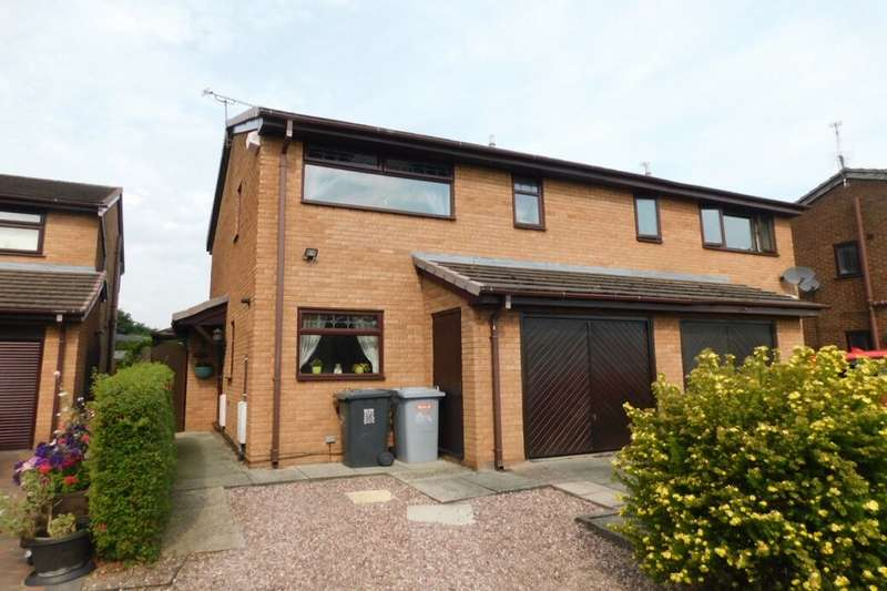 3 Bedrooms Semi Detached House for sale in Rochester Crescent, Crewe, CW1