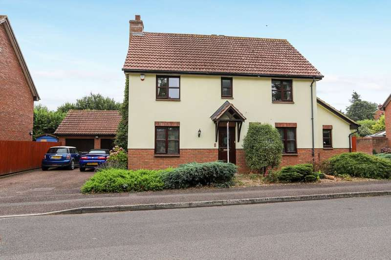 4 Bedrooms Detached House for sale in Monkerton Drive, Exeter
