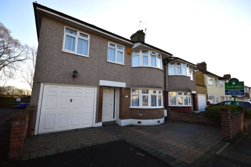 4 Bedrooms Semi Detached House for sale in Axminster Crescent, Welling, Kent, DA16