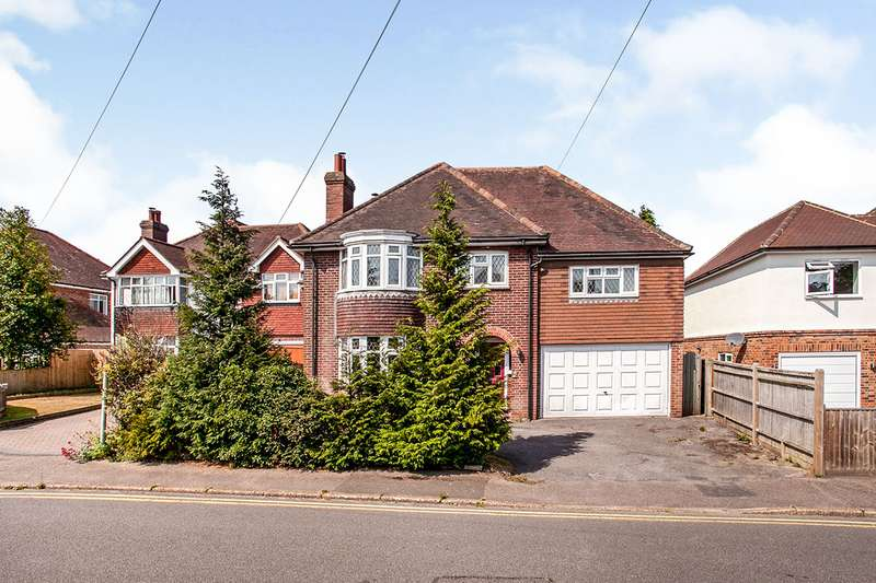 4 Bedrooms Detached House for sale in Camden Avenue, Pembury, Tunbridge Wells, Kent, TN2