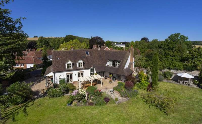 5 Bedrooms Detached House for sale in The Square, Compton, Chichester, West Sussex, PO18