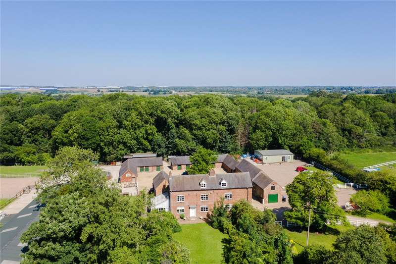 6 Bedrooms Detached House for sale in Shawell Road, Cotesbach, Lutterworth, Leicestershire, LE17
