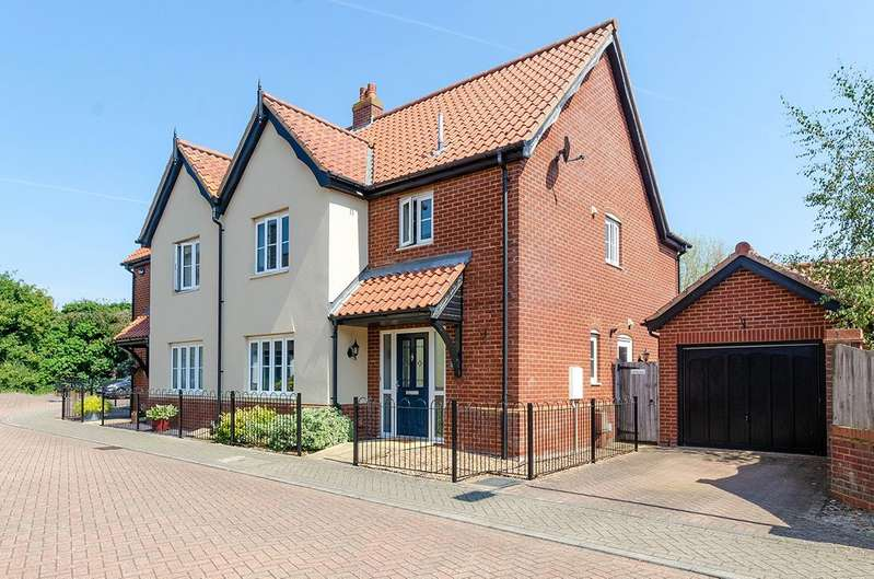 3 Bedrooms Semi Detached House for sale in Easton, NR9