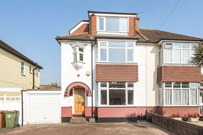 4 Bedrooms Semi Detached House for sale in Farm Way, WORCESTER PARK, Surrey, KT4