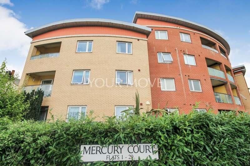 2 Bedrooms Flat for sale in Victoria Road, Romford, RM1