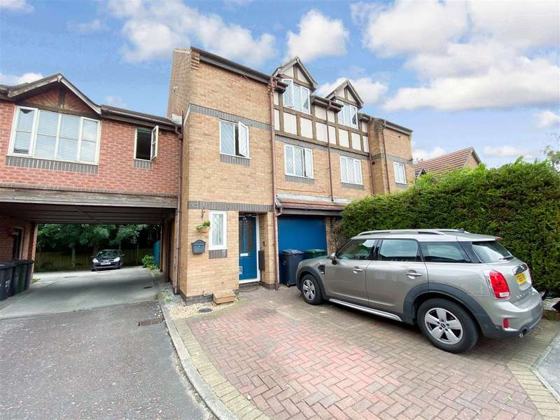 4 Bedrooms Town House for sale in Duddon Close, Morecambe
