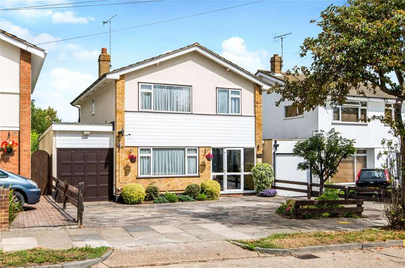 3 Bedrooms Detached House for sale in Ashurst Avenue, Wick Estate, Southend-on-Sea, Essex, SS2