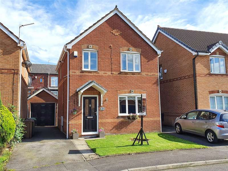 3 Bedrooms Detached House for sale in Luzley Brook Road, Royton, Oldham, Greater Manchester, OL2